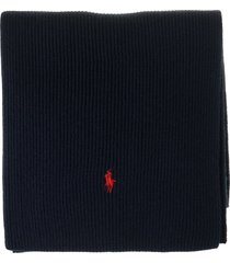 ralph lauren wool scarf with the exclusive pony