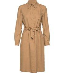 6253 - amal jurk knielengte beige sand