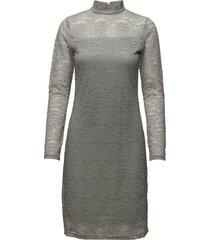 sisse dress knälång klänning grå soft rebels