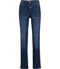 jeans  in denim elasticizzato classico straight (blu) - john baner jeanswear