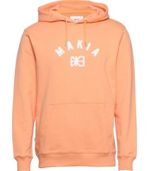 brand hooded sweatshirt hoodie orange makia