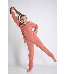 conjunot de pijama acuo longo soft levíssima feminino