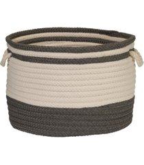 colonial mills bar harbour braided storage basket