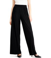 alfani plisse pleated pants, created for macy's