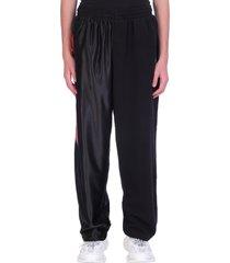 balenciaga pants in black polyester
