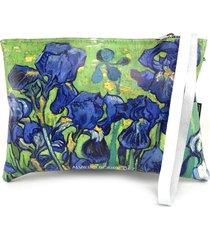 pochette alviero rodriguez bianco iris pochette bir unico