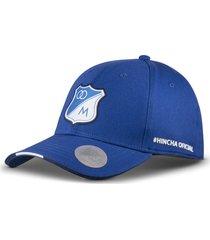 gorra oficial azul millonarios otocaps  fmic-002 azul