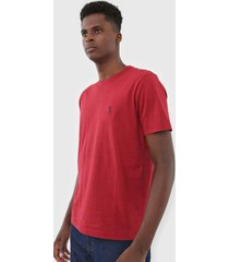 camiseta aleatory logo vermelho