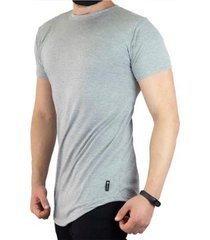 camiseta vcstilo longline barra arredondada masculina - masculino