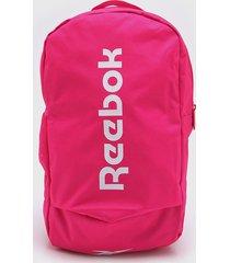 mochila rosa reebok act core ll