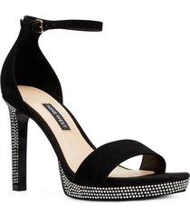 zapato fiesta edyn negro mujer nine west