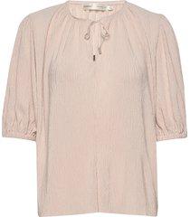 karloiw blouse blouses short-sleeved roze inwear