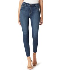 sam edelman the stiletto raw-hem skinny jeans