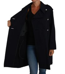 crystal knoppen trench a-line jacket jas
