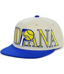 mitchell & ness indiana pacers hardwood classic winners circle snapback cap