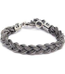braided chain bracelet