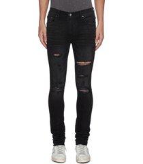 'thrasher plus' distressed skinny jeans