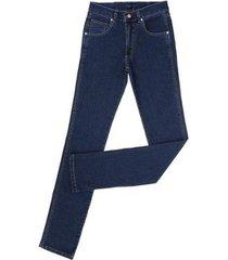 calça jeans básica dock's com elastano masculina