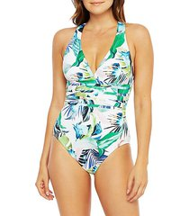 in the moment multi-strap one-pieceswimsuit