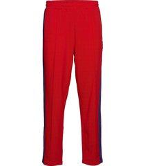 ru glamis-striped trck pant sweatpants mjukisbyxor röd russell athletic
