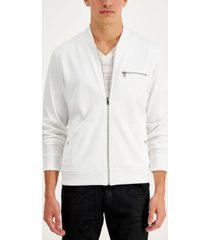 inc men's perforated track jacket, created for macy's