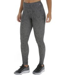 calça legging oxer estampa curvas - feminina - preto/branco
