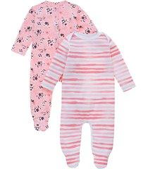pijama enterizo rosado  offcorss