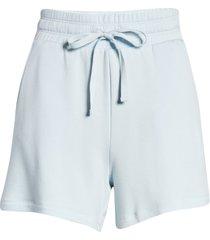women's lou & grey signaturesoft plush shorts, size xx-small regular - blue