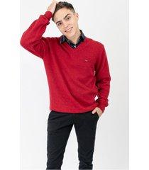 sweater rojo pato pampa
