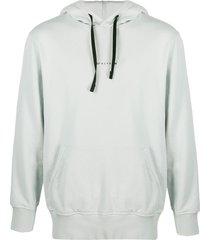 grey sphere logo hoodie