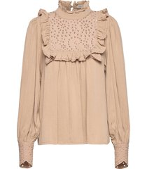 blouse blus långärmad rosa sofie schnoor