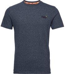 ol vintage emb crew t-shirts short-sleeved blå superdry