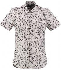 antony morato grijs overhemd american fit