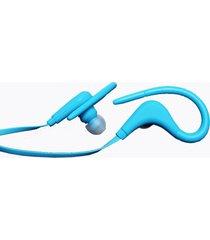 audífonos bluetooth deportivos, bt-1 estéreo blutooth sport inalámbrico in ear monitor auricular con cancelación de ruido manos libres (azul)