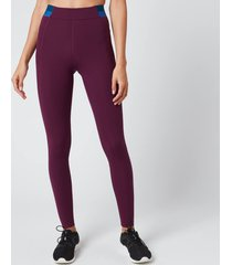 lndr women's spar leggings - blackberry - l