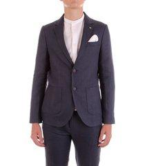 blazer bicolore f1826l-oleandro