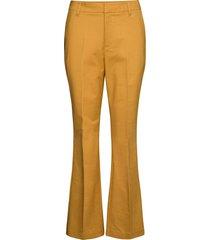 trousers broek met wijde pijpen goud noa noa