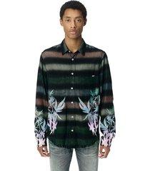 amiri mulkticolor printed shirt