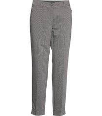 leisure trousers lon pantalon met rechte pijpen grijs taifun