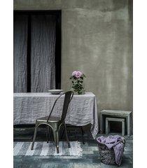 lniany obrus 150x220 - pearl gray