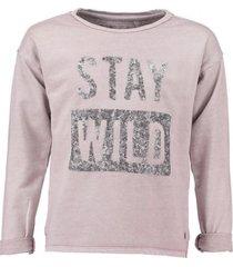 garcia lila sweater met pailletten