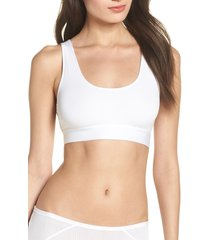 women's negative underwear whipped bralette, size x-small - white