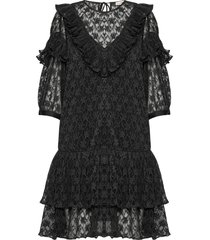 baluna korte jurk zwart custommade