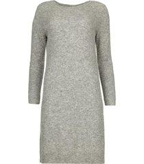 gebreide jurk nancy  grijs