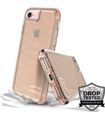 estuche para iphone 7/8 prodigee safetee - rosado