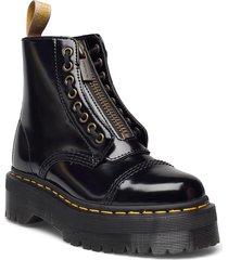 vegan sinclair black oxford shoes boots ankle boots ankle boot - flat svart dr. martens