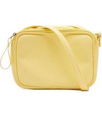 bolso pequeño amarillo color amarillo, talla uni