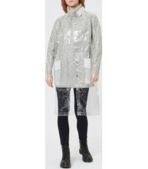 rains women's ltd mackintosh jacket - transparent - s-m - clear
