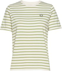 mia t-shirt t-shirts & tops short-sleeved beige wood wood