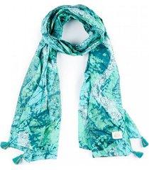 pañuelo esmeralda verde humana